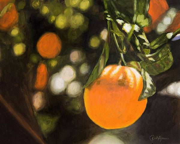 Fruit Trees Wall Art - Painting - Oranges by Kirsty Rebecca