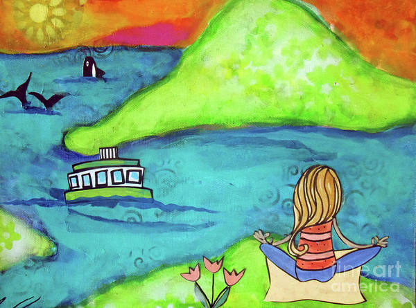 Pod Mixed Media - Orca Watching by Carla Seaton