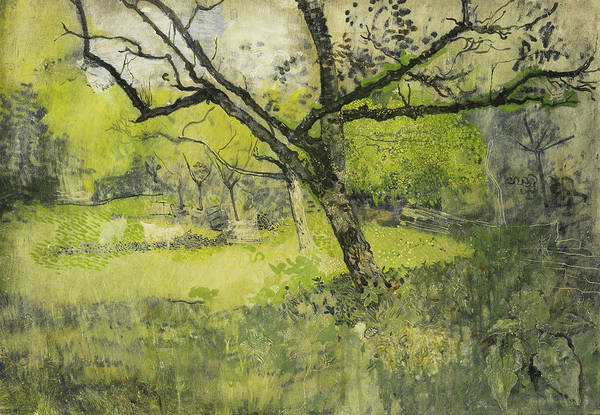 Painting - Orchard In Eemnes by Richard Roland Holst
