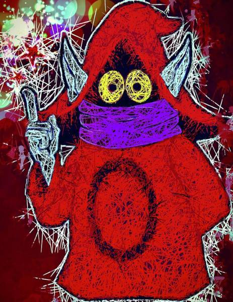 Mixed Media - Orko by Al Matra