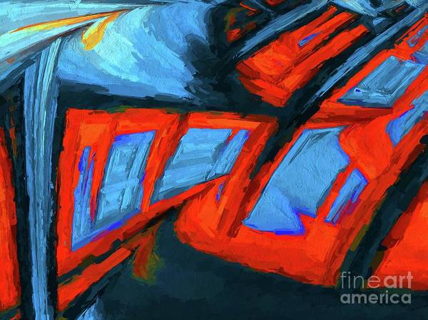 Fractal Painting - Order. Abstract Art By Tito by Tito