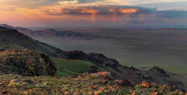 Photograph - Oregon Canyon Mountain Views by Leland D Howard