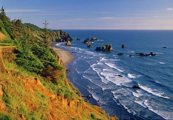 Boardman Photograph - Oregon Coast Samuel H. Boardman State by Ron thomas