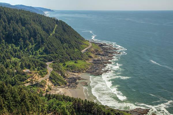 Wall Art - Photograph - Oregon Coastline 01035 by Kristina Rinell