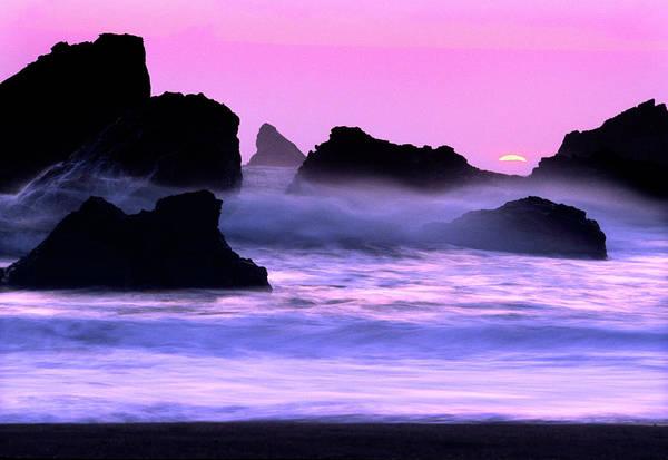 Bleached Photograph - Oregon, Harris Beach by Russell Burden