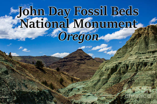 Photograph - Oregon - John Day Fossil Beds National Monument Blue Basin by G Matthew Laughton