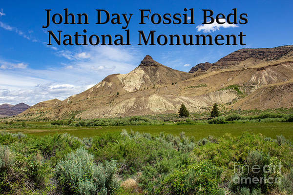 Photograph - Oregon - John Day Fossil Beds National Monument Sheep Rock 1 by G Matthew Laughton