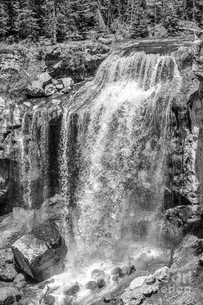 Photograph - Oregon Wall Art, Oregon Print, Oregon Art, Pacific Northwest, Paulina Falls, Waterfall Art, Travel,  by David Millenheft
