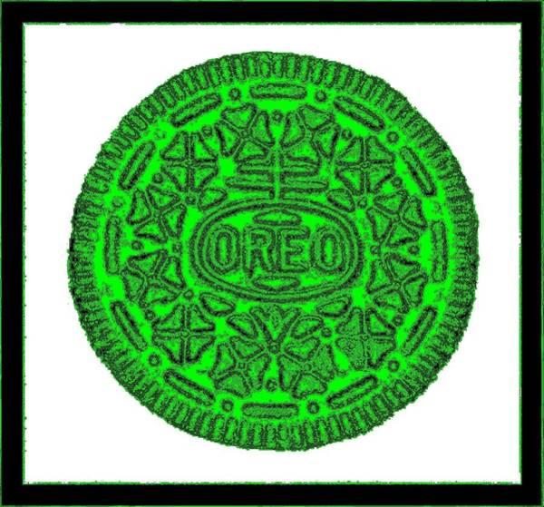 Photograph - Oreo Redux Green 3 by Rob Hans