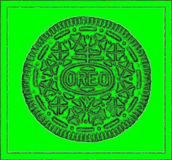 Photograph - Oreo Redux Green 6 by Rob Hans