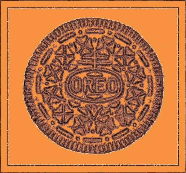 Photograph - Oreo Redux Orange 6 by Rob Hans