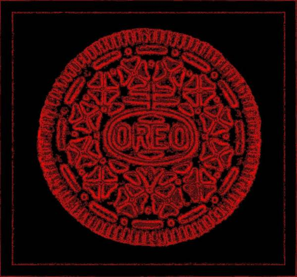 Photograph - Oreo Redux Red 1 by Rob Hans