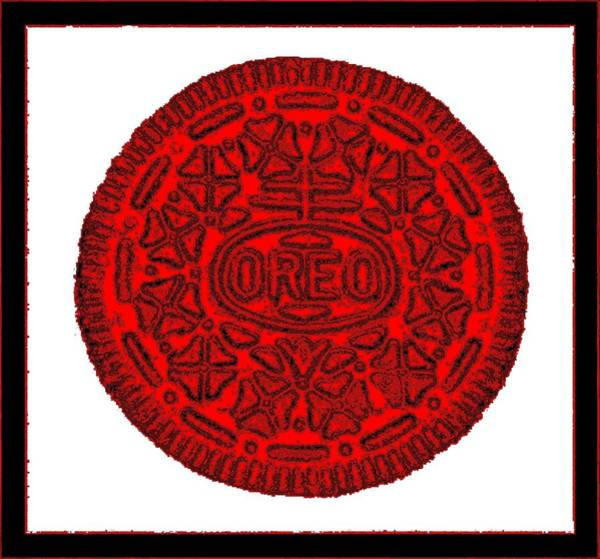 Photograph - Oreo Redux Red 3 by Rob Hans