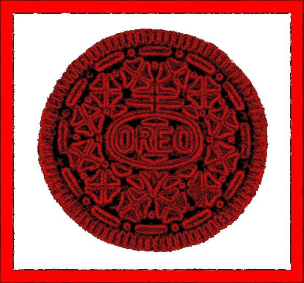 Photograph - Oreo Redux Red 5 by Rob Hans