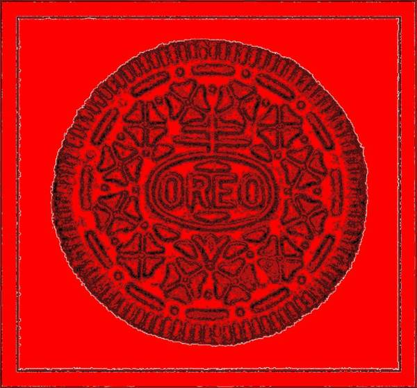 Photograph - Oreo Redux Red 6 by Rob Hans