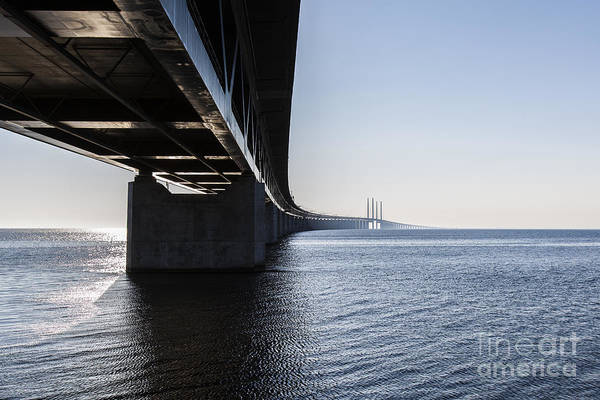 Wall Art - Photograph - Oresund Bridge,oresunds Bron, Bridge On by Babaroga