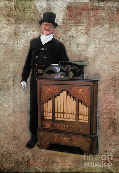 Photograph - Organ Grinder by Jutta Maria Pusl
