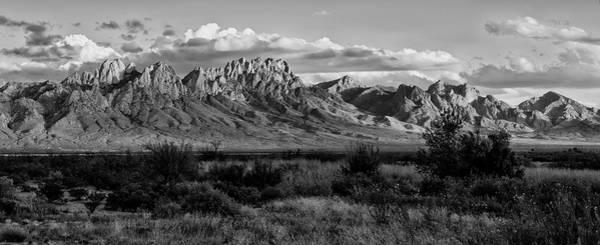 Photograph - Organ Mountains - Black And White by Loree Johnson