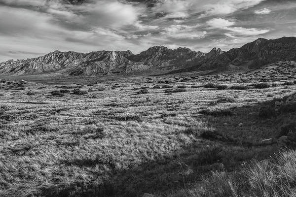 Photograph - Organ Mountains Black And White Second Iteration  by Chance Kafka