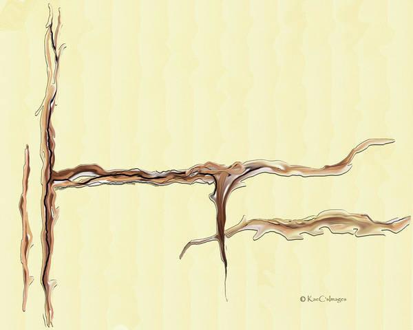 Digital Art - Organic Abstract by Kae Cheatham
