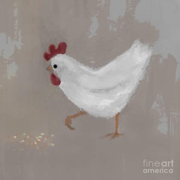Wall Art - Painting - Organic Chicken  by Vesna Antic
