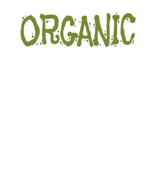 Organic Gardening Drawing - Organic Healthy Foof Organic Farming Real Food Farm To Table by Kanig Designs