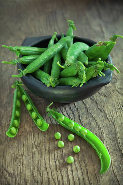 Material Photograph - Organic Peas by Kcline