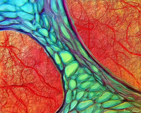 Digital Art - Organic by Rein Nomm