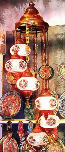 Photograph - Oriental Lamp by Dorothy Berry-Lound