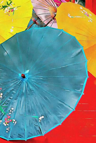 Photograph - Oriental Parasols Mixture by Dorothy Berry-Lound