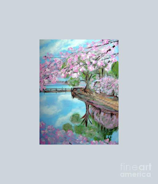 Original Painting. Joy Of Spring. Art Print