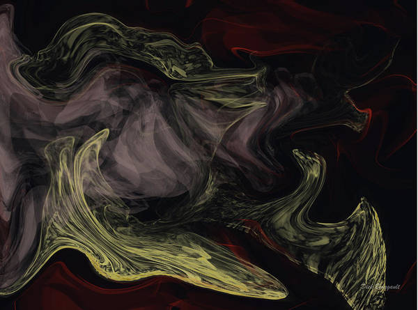 Painting - Originalism by Dick Bourgault