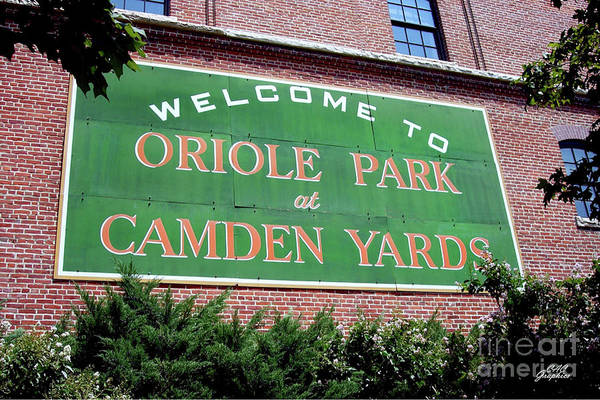 Photograph - Oriole Park At Camden Yards by CAC Graphics