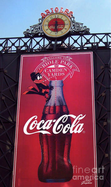 Photograph - Orioles Coca Cola by CAC Graphics