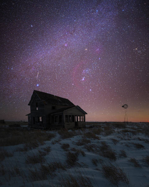 Photograph - Orion  by Aaron J Groen