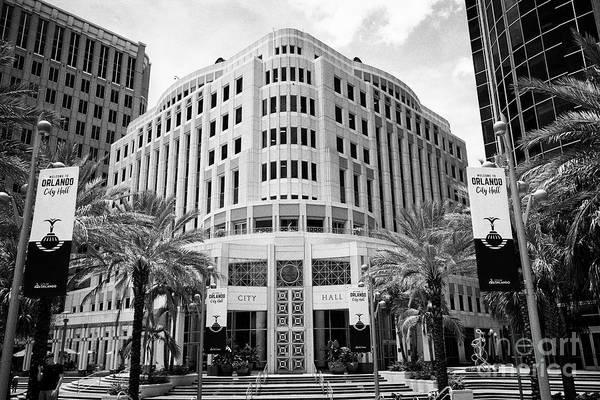 Wall Art - Photograph - Orlando City Hall Building Orlando Florida Usa by Joe Fox