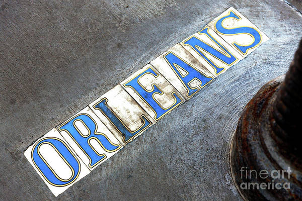 Wall Art - Photograph - Orleans Street Tiles In The French Quarter by John Rizzuto