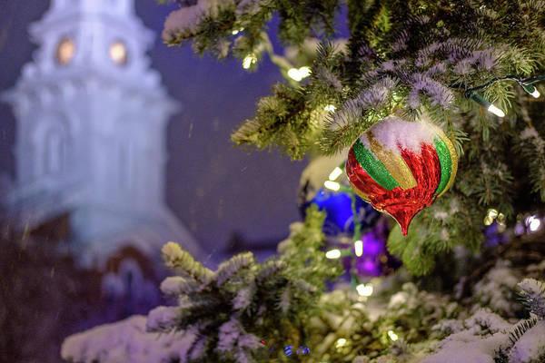 Photograph - Ornament, Market Square Christmas Tree by Jeff Sinon