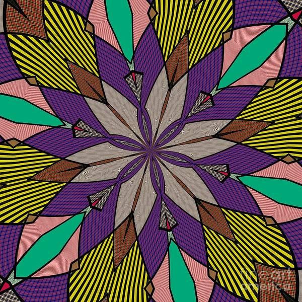 Stripe Mixed Media - Ornaments 117 by Alex Caminker