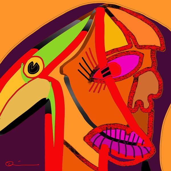 Digital Art - Ornithophobia by Jeff Quiros