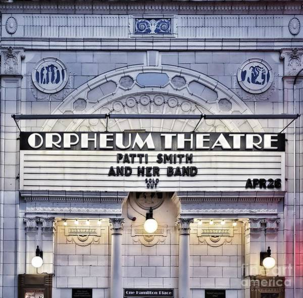 Photograph - Orpheum Theater Boston by Mary Capriole
