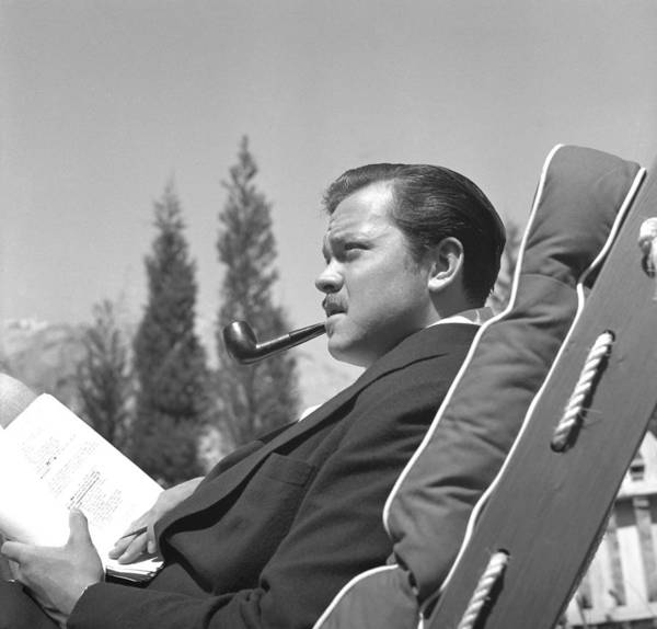 Photograph - Orson Welles by Earl Theisen Collection
