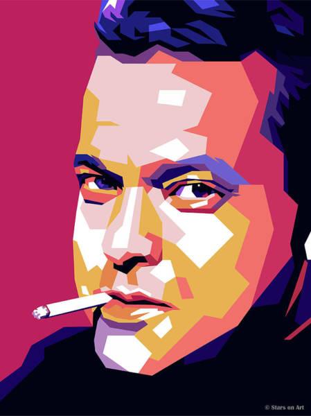 Digital Art - Orson Welles by Stars on Art