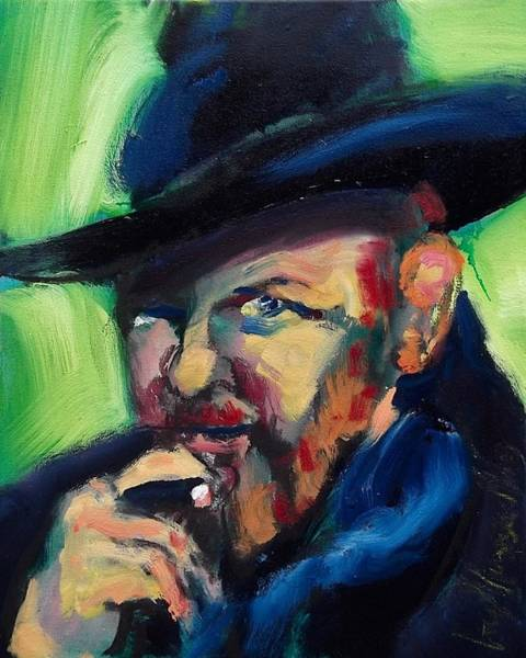 Painting - Orson Welles by Les Leffingwell