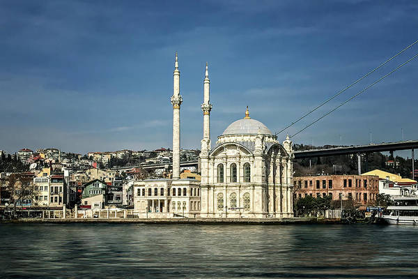 Wall Art - Photograph - Ortakoy Mosque by Maria Coulson