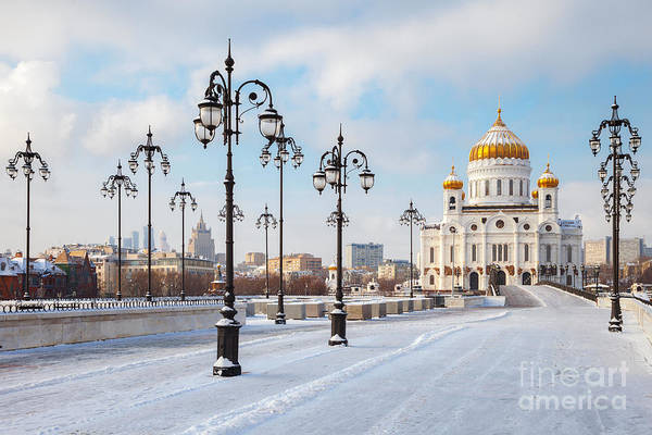 Wall Art - Photograph - Orthodox Church Of Christ The Savior In by Chamille White