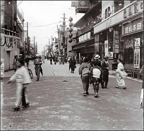 Kansai Painting - Osaka Japan  1920 by Celestial Images