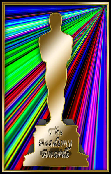 Digital Art - Oscar by Chuck Staley