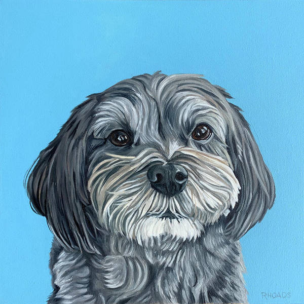 Painting - Oscar by Nathan Rhoads
