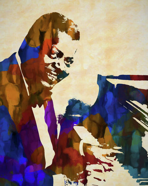 Wall Art - Painting - Oscar Peterson by Dan Sproul